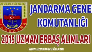Jandarma Genel Komutanlığı Uzman Erbaş Alımları
