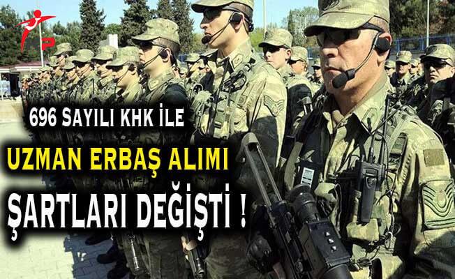 Jandarma Uzman Erbaş Alımları Yaş Sınırı ve Askerlik Şartı Değişti