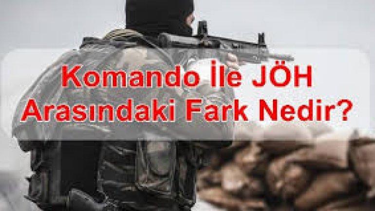 Komando İle Jandarma Özel Harekat Arasındaki Fark Nedir