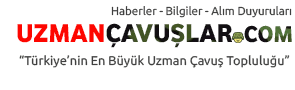 Uzman Çavuşlar Türkiye'nin En Büyük Asker Portalı