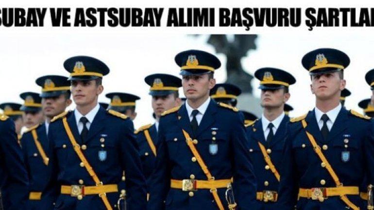 2019 Subay-Astsubay  Alımı Başlıyor En Az Lise Mezunu!