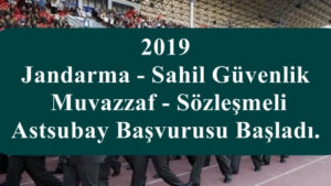 2019 JGK Sözleşmeli Astsubay Alımı Yapıyor İşte  Şartlar!