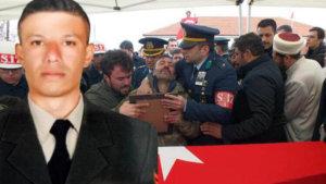Şehit Uzman Çavuş Hasan Hüseyin Özdemir'i 5 bin kişi son yolculuğuna uğurladı